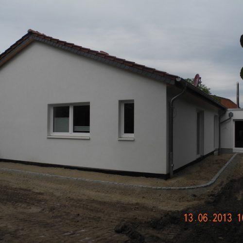 Neubau 1-Fam.Haus barrierefrei, mit Garage