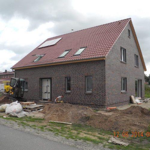Neubau 1-Fam.Haus mit Doppelgarage