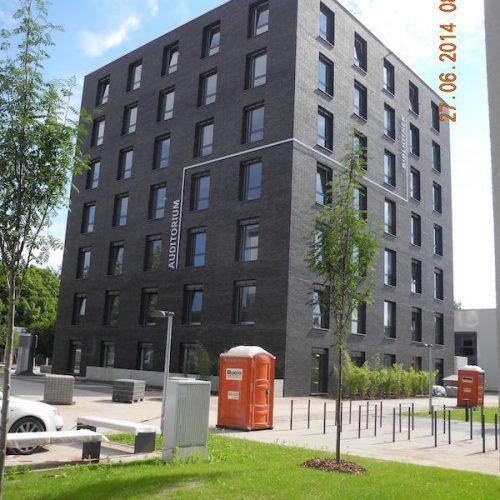 BQÜ- Neubau Universitätsgebäude