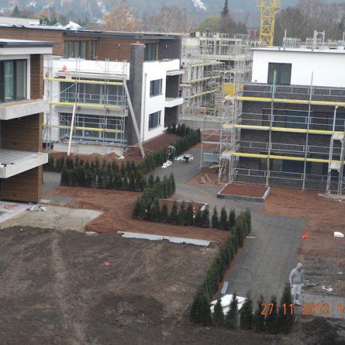 BQÜ- Neubau von 12 Mehrfamilienhäusern
