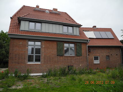 Energetische Kernsanierung 2-Fam.Haus