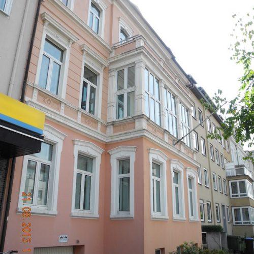 Sanierung/ Erweiterung Wohn- und Geschäftshaus