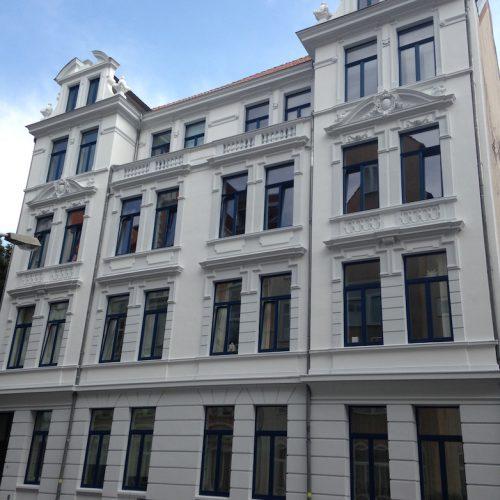 Baudenkmal- Fassaden- und Dachsanierung