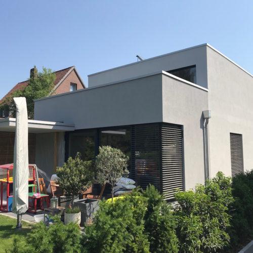 Neubau 1-Familienhaus (teilunterkellert)
